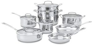 Cuisinart 13 pieces cookware set
