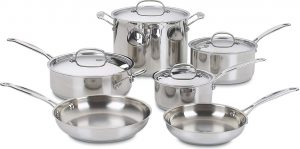 Cusinart 77- 10 piece cookware set