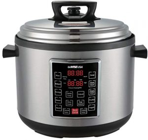GoWISE USA 12-Quart XL programmable 10-in-1 electric pressure cooker