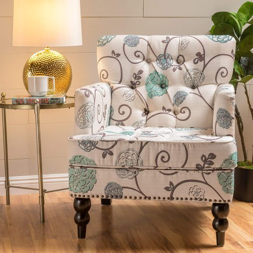 Great Deal Furniture Chair w/Nailhead Accents