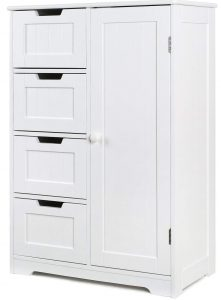 HOMFA Bathroom Floor Cabinet