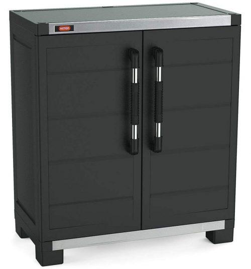Keter XL Pro Freestanding Storage Cabinet Plastic