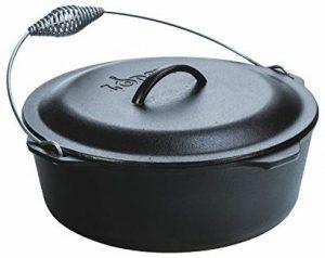 Lodge L12DO3 cast iron Dutch oven