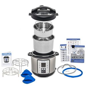 Multi-use programmable pressure cooker by Yedi Houseware