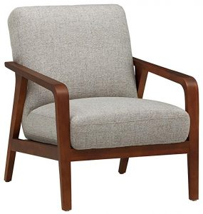 Rivet Huxley Mid-Century Accent Chair