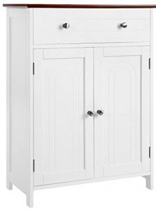 SONGMICS Free Standing Bathroom Cabinet