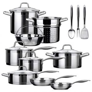 Secura SSIB induction cookware set