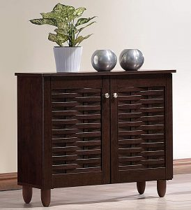 Wholesale Interiors Baxton Studio Winda Shoes Storage Cabinet