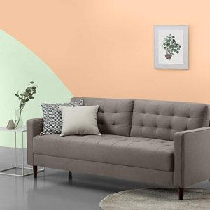 Zinus Mid-Century Living Room Couch (76 inches)