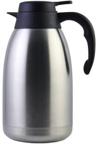 68 Oz Stainless steel thermal coffee carafe by Cresimo68 Oz Stainless Steel Coffee Carafe Thermal by Cresimo