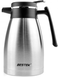 BESTEK Coffee Carafe, A 50-ounce Stainless Steel Coffee Carafes