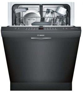 "BOSCH SHS5AVL6UC 24"" dishwasher stainless steel"