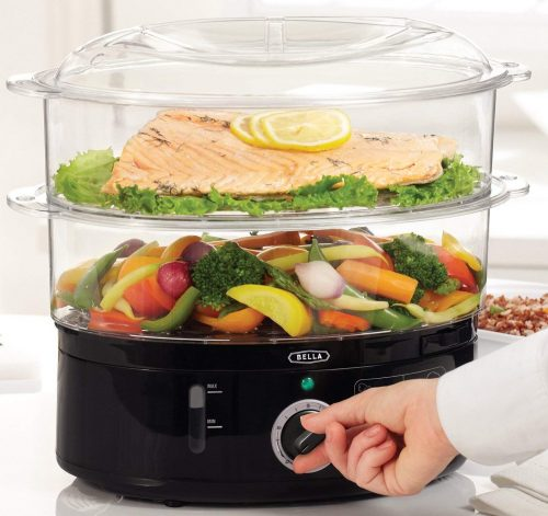 Bella 7.4 quart healthy food steamer