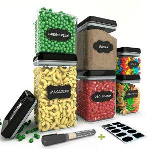 Chef's path airtight food storage container set, 6-piece set