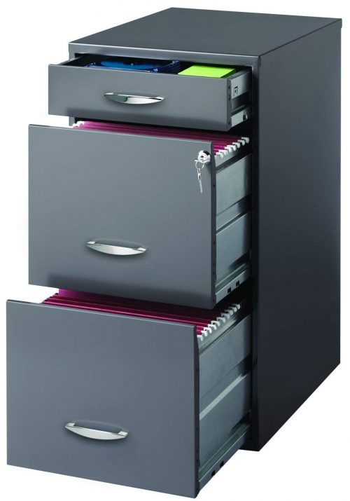 CommClad Hirsh SOHO 3 File Cabinet- A decent looking