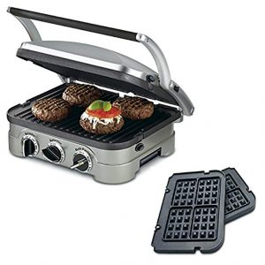Cuisinart 5-in-1 Grill Griddler Panini Maker