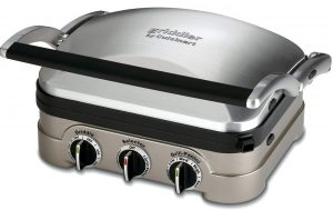 Cuisinart Griddler Gourmet, 5 functions in 1 unit