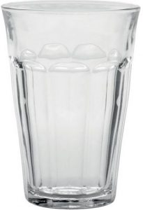 Duralex Made in France Picardie clear tumbler