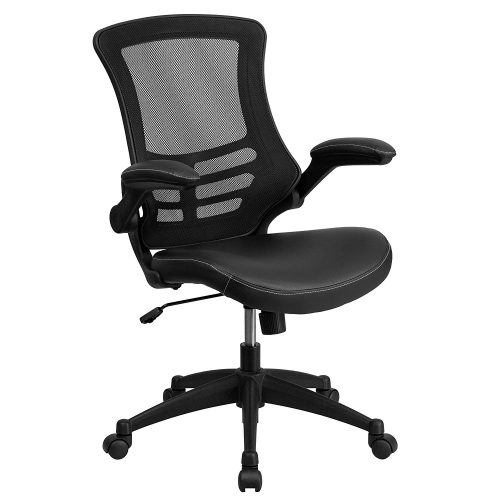 Flash Furniture Mid-Back Task Chair - Highly Recommended Office Chair with Lumber Support