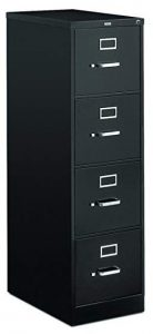 HON 4-Drawer File Cabinet- The Space-saver