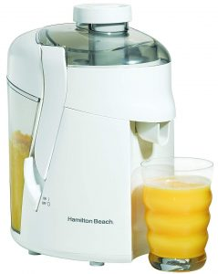 Hamilton Beach Juice Extractor 67800H in White