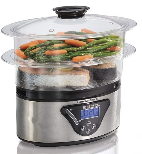 Hamilton Beach digital food steamer and Vegetable Steamer