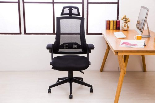 Kadirya LCH High Back Mesh Office Chair is good for stylish working environment.