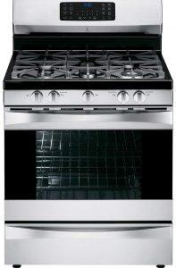 Kenmore Elite 75233 gas range in stainless steel