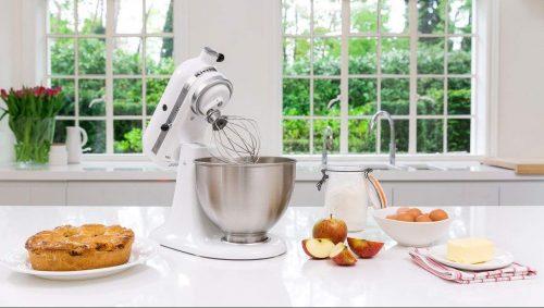 KitchenAid K4SSWH K45SS Kitchen Stand Mixer