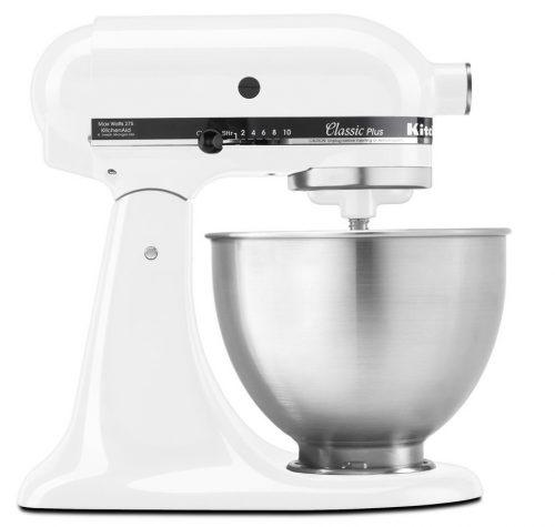 KitchenAid KSM75WH Classic Plus Series, Tilt-head Kitchen Stand Mixer