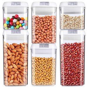 Mcirco food storage container, 6-piece set