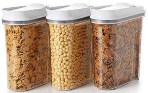OXO Good Grips 3 piece airtight POP cereal dispenser set