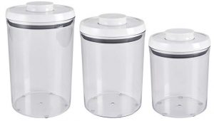 OXO Good Grips 3- piece airtight POP round canister set