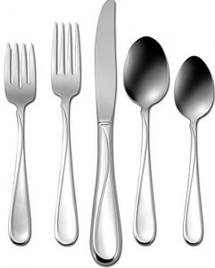 Oneida Flight 45-piece stainless-steel flatware set