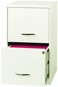 Space Solutions Deep 2 Drawer File Cabinet- Highly Recommended