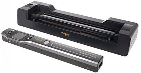 Vupoint ST470 is a portable scanner coming along with a magic wand scanner to smoothen your scanning process.