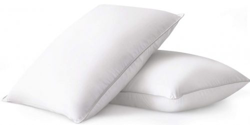 Beckham Hotel Collection Luxury White Down Feather Pillow