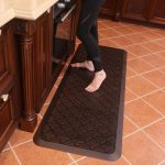 Butterfly Long kitchen anti-fatigue mat, 24*70 inches