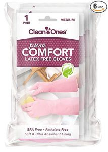 Clean Ones Pure Comfort Vinyl Gloves
