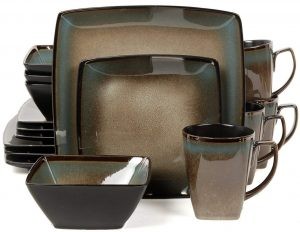 Gibson Elite 101859 square dinnerware set