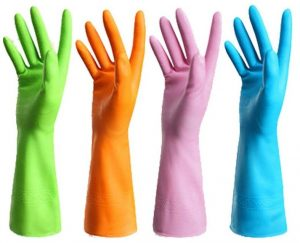 Guzon Reusable Dishwashing Nitrile Gloves