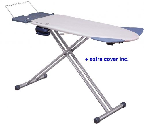 Mabel Home Extra-Wide ironing board Pro Board with Shoulder Wing Folding