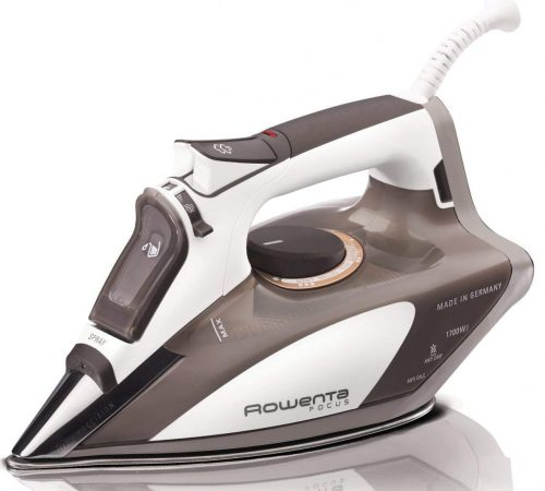 Rowenta Steam Iron, A Stainless Steel Soleplate with Auto-Off