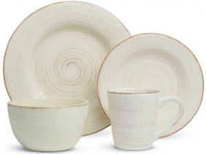 Sonoma 16-piece Ironstone ceramic dinner set