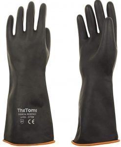 ThxToms Heavy Duty Latex Gloves: - Top in the List