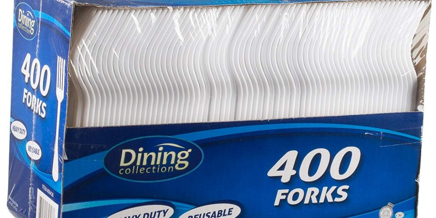 White forks medium weight 400CS Dining collection