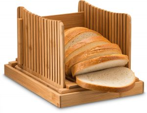 Bambüsi, Bamboo Bread Slicers for Homemade Bread