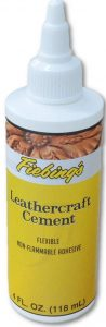 Fiebings Leathercraft Cement 4 oz Glue