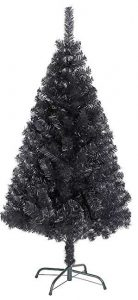6ft Black Christmas Tree imperial tips by Shatchi