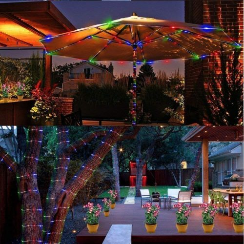 Battery LED Rope Lights, Waterproof Decoration LED Rope Lighting for Indoor Outdoor